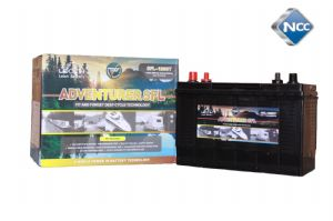 Leoch SFL-120DT -  SEALED Lead Acid Leisure Battery with Dual Terminals